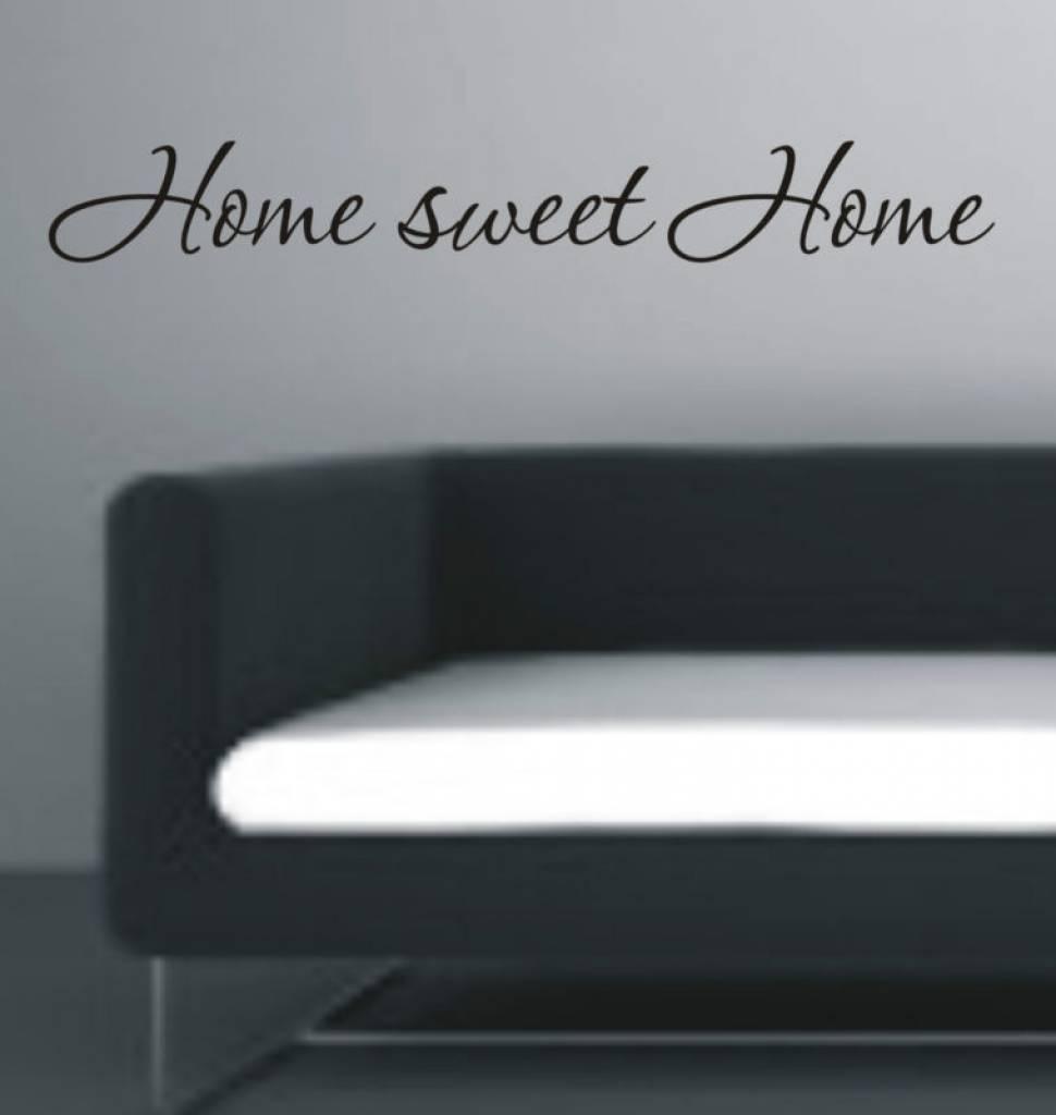 Muursticker Home Sweet Home.Home Sweet Home Muursticker Interieursticker