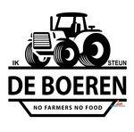 Ik steun de boeren sticker