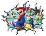 Gat in de muur Mario Party Nintendo