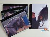 Paardenpaspoort hoes met foto van uw paard