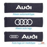 Gordelhoes met automerk of type en logo_