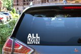All lives matter sticker