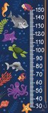 Onderwaterwereld groeimeter