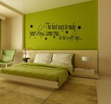 The best way to make your dreams come true. Is to wake up. Muursticker / Interieursticker_