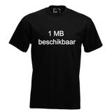 1 MB beschikbaar. Keuze uit T-shirt of Polo en div. kleuren. S t/m 5XL_