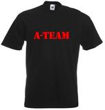 A-team. Keuze uit T-shirt of Polo en div. kleuren. S t/m 5XL_