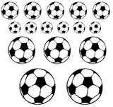 Set voetbal stickers_