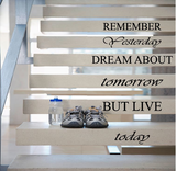 Remember yesterday dream about tomorrow trapsticker_