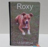Dierenpaspoort hoes met foto van uw huisdier. Naam en datum ook mogelijk.