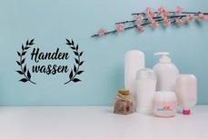 Wash your Hands / Handen wassen (1) sticker