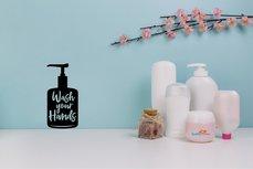 Wash your Hands / Handen wassen (2) sticker
