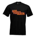 God save the queen. Keuze uit T-shirt of Polo en div. kleuren. S t/m 5XL