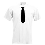 Stropdas T-shirt. Maat S t/m 5XL