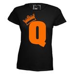 Q. Dames T-shirt in div. kleuren. XS t/m 4 XL