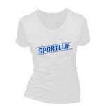 Sportlijf. Dames T-shirt in div. kleuren. XS t/m 3XL