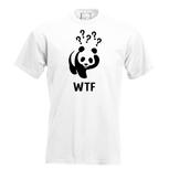 WTF? (WNF). Dames T-shirt in div. kleuren. XS t/m 3XL