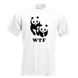 WTF (WNF). Dames T-shirt in div. kleuren. XS t/m 3XL