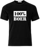 100 procent boer. Keuze uit T-shirt of Polo en div. kleuren. S t/m 5XL