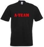 A-team. Keuze uit T-shirt of Polo en div. kleuren. S t/m 5XL