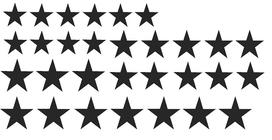 Sterrenset stickers