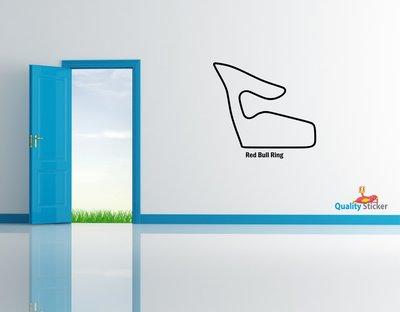 Race circuit Oostenrijk - Red Bull Ring muursticker