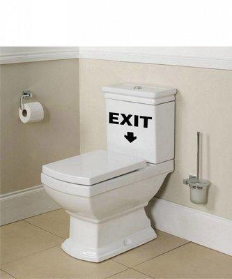 Toiletsticker Exit