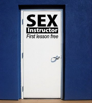 Sex instructor. First lesson free