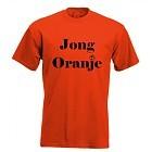 Jong oranje!. Keuze uit T-shirt of Polo en div. kleuren. S t/m 5XL