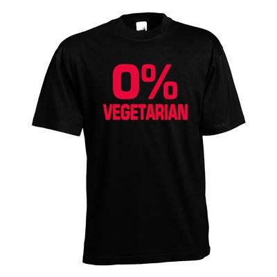 0% vegetarian. Keuze uit T-shirt of Polo en div. kleuren. S t/m 5XL