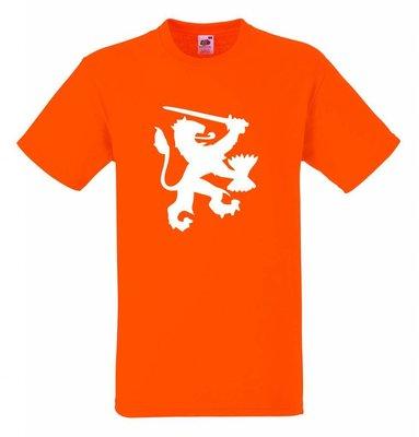 Holland leeuw. T-shirt of Polo en div. kleuren. S t/m 5XL
