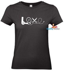 LOVE kapster shirt