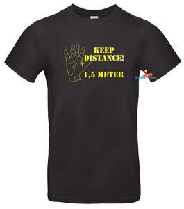 Keep distance 1,5 meter t-shirt