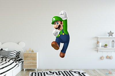 Luigi 3D muursticker