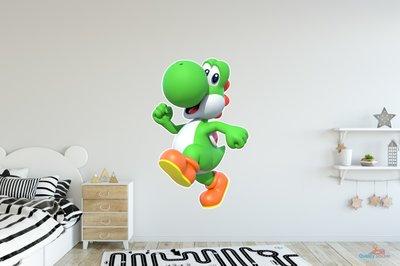 Yoshi 3D muursticker