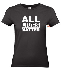 All lives matter dames T-shirt