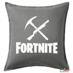 Fortnite logo kussen