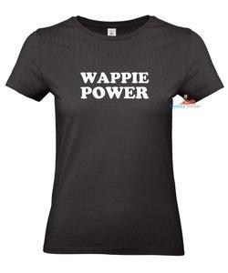 Wappie power dames T-shirt