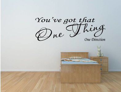 One direction - You've got that one thing