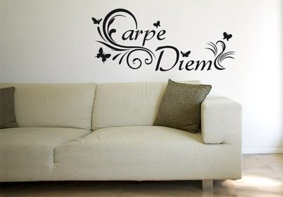 Carpe Diem (2). Muursticker