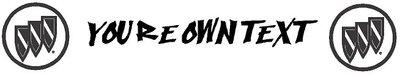 Zonneband met eigen tekst en logo's