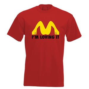I'm loving it. Keuze uit T-shirt of Polo en div. kleuren. S t/m 5XL