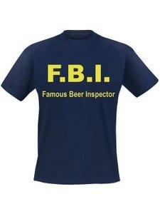 F.B.I. Famous Beer Inspector shirt