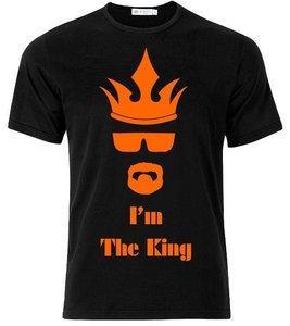 King Mr White. I'm the King. T-shirt of Polo en div. kleuren. S t/m 5XL