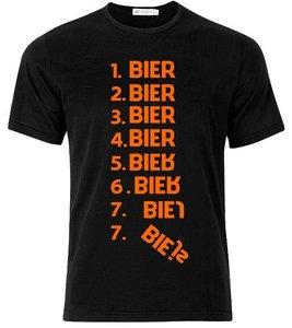 1 bier 2 bier 3 bier. T-shirt of Polo en div. kleuren. S t/m 5XL