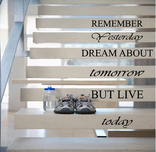 Remember yesterday dream about tomorrow trapsticker