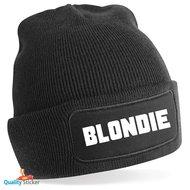 Blondie muts in kleur naar keuze